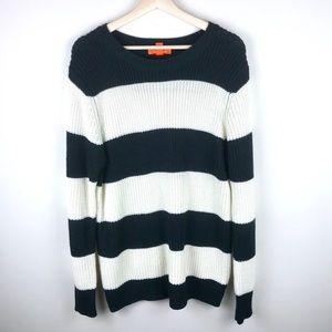 🎉4/$20 Joe Fresh Striped Knit Sweater Large